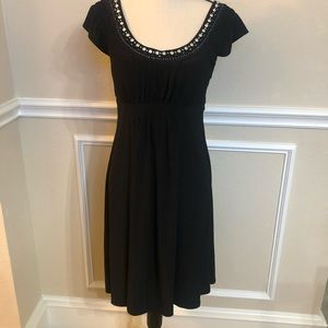 Tahari Black Dress. Size 8. Excellent condition!